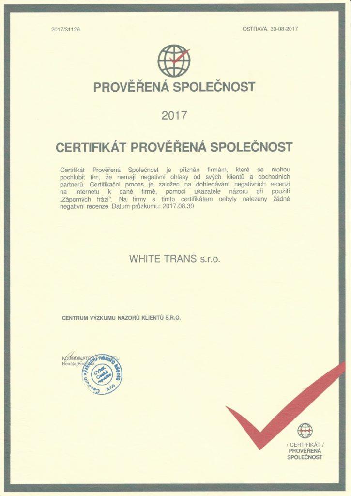certifikat proverena firma